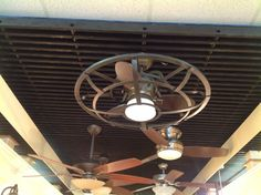 Light/Fan in Media Room