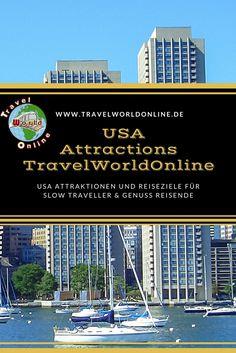 USA Attraktionen und Reiseziele für Slow Traveller und Genuss Reisende