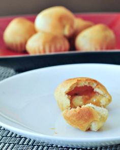 Apricot Havarti Puffs - bite size and party perfect, these pillowy puffs are sweet and savory and rich - and you should plan a double batch! @spabettie