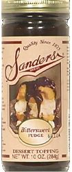 Sanders Bittersweet Fudge ice cream & dessert topping. Detroit FTW!!