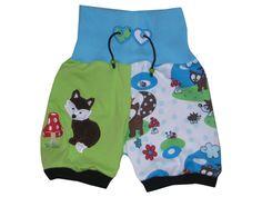 kurze Pumphose Sommershort Little Fox von Janeas W von me Kinderkleidung und ersatzbezuege auf DaWanda.com