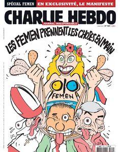 hommage à Charlie Hebdo
