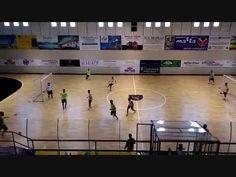 Futsal Città di Sestu Partita 3v3 con sponde mobili - YouTube