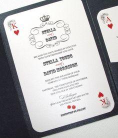 red faux glitter las vegas wedding invitation wedding destinies and las vegas - Las Vegas Wedding Invitations