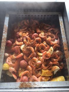 Clambake Party! Shrimp, Mussels, Clams, Sausage, Crab, Lobster, Potatoes, Corn, Clam Chowder & Maryland Crab Soup
