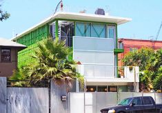 Airy Green On Main is a Live-Work Space Built With 14 Upcycled Shipping Containers in Venice Beach | Inhabitat - Sustainable Design Innovation, Eco Architecture, Green Building
