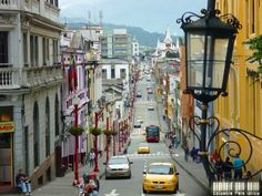 Carrera 22 Centro Histórico, Manizales, Colombia  © Colombia Pais Unico Ecuador, Amazing Places, Beautiful Places, Visit Colombia, Colombia South America, World Cities, Great Memories, Capital City, The Good Place