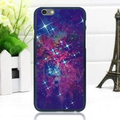 Noctilucent PC Hard Back Cover Case for iPhone 6/ 6S - Night Sky