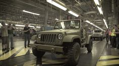 The one-time-only assembly of the 75th Salute concept Jeep® Wrangler reminds us how closely today's Jeep vehicles match the spirit of our past.  http://www.getdodge.com/
