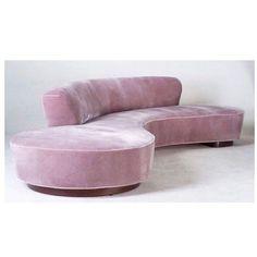 Dreamy Serpentine Sofa by @vladimirkagandesign to help getting through this Monday morning #interiordesign #interiors #midcenturyfurniture #midcentury #midcenturymodern #interiorinspiration #interiorinspo #instadecor #instadesign #interiordesign #interiordesigner #design #homedecor #furniture #art #chair #furnituredesign #modern #mood #elledecor #architecturaldigest #vogueliving #pink #chair #pink #sofa #vintage #vladimirkagan