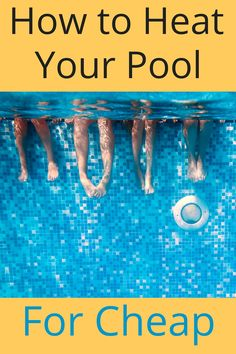 How Do You Heat Your Pool for Cheap? Readers Weigh In with Advice. - Summer is right around the corner. Learn how to have your pool and heat it too! Above Ground Pool Heater, Above Ground Pool Decks, In Ground Pools, Cleaning Above Ground Pool, Above Ground Pool Lights, Oberirdischer Pool, Pool Fun, Backyard Pools, Outdoor Pool