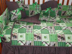 John Deere Crib bedding for a boy :) for Kathleen & Galen