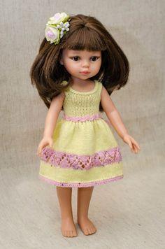 Вязаная одежда для кукол - КуклаМода