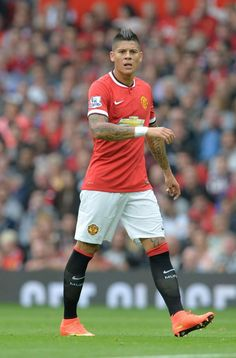 Marcos Rojo on his debut vs QPR