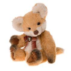 Charlie Bears Fernando Plush Fox 34cm Secret Col