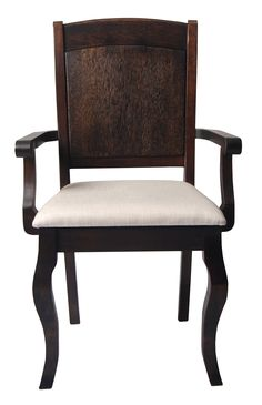 MR-P082C ARM CHAIR- FRONT VIEW