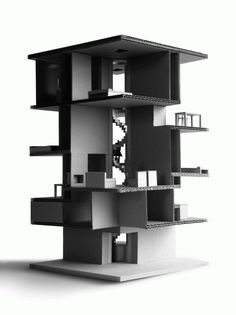 Image 2 of 25 from gallery of Gago House / Pezo von Ellrichshausen. Concept Architecture, Interior Architecture, Architecture Portfolio, Pezo Von Ellrichshausen, Casas Containers, 3d Modelle, Arch Model, Autocad, Design Model