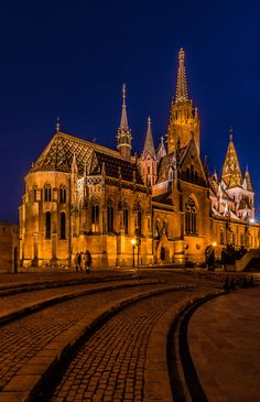 Matthias Church by Csilla Zelko on 500px