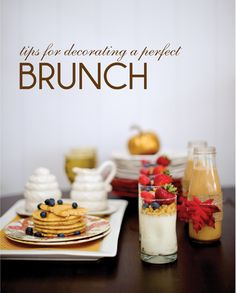 decorating the perfect fall brunch  #thepartydressmagazine