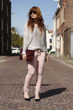 H&M Sweater, Asos Jean