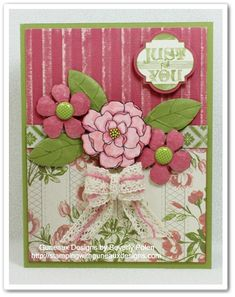 Secret Garden & Tea for Two DSP by guneauxdesigns - Cards and Paper Crafts at Splitcoaststampers