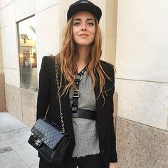 ZADIG EASY LUXURY: The gorgeous @ChiaraFerragni in Z&V cashmere! #ootd #theblondesalad #cashmere #zadigeasyluxury