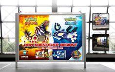 Out of Home, 18/1 . Pokémon Omega Rubin & Pokémon Alpha Saphir . Nintendo 3DS