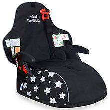 Trunki Boostapak Group 2-3 Car Booster Seat, Black Stars http://www.parentideal.co.uk/john-lewis--baby-car-seats.html