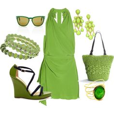 This is a good summer color for me..love the shoes..Kate Spade $$