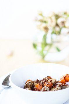Chicken Sausage Quinoa Pilaf // Trader Joe's recipe