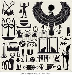 ... of symbols and signs of ancient Egyptian culture,religion and history
