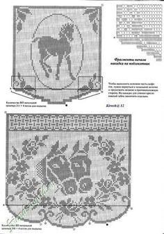 ru / Фото - Other - gabbach Mehr Plaid Crochet, Crochet Cross, Crochet Home, Thread Crochet, Crochet Stitches, Knit Crochet, Filet Crochet Charts, Crochet Doily Patterns, Crochet Diagram