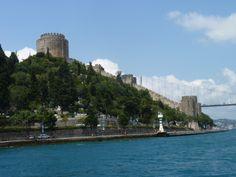 Estambul. Crucero por el Bósforo. Fortaleza Europa.
