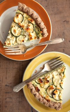 Though ideal for picnics, you'll think of any excuse to make this rich, savory pie, especially when zucchini is in season. To punch up the flavor add a small handful of chopped fresh herbs or a generous pinch of freshly grated nutmeg.