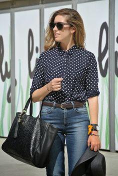 bpla'style by belén plá: OUTFIT | SKINNY HIGH WAIST JEANS