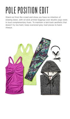 Stand out from the crowd and take pole position with Sweaty Betty founder Tamara's fall fashion edit...