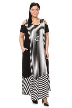 Платье большого размера -NATURAXL