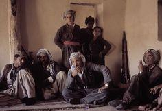 1974. Peshmerga commandos during a meeting in a Kurdish village. Photograph: Bruno Barbey/Magnum Photos
