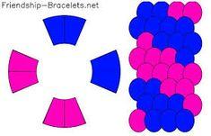 Resultado de imagen para schemat wzorów na dysku kumihimo