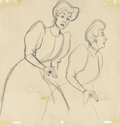 Lady Tremaine development sketch
