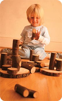 Steiner Waldorf education respects the essential nature of childhood, enabling each child to develop their inherent capacities and self-confidence in a caring, child-sensitive and structured environment. This provides a secure, unhurried setting where a wide range of vital early skills can develop.(love the really log blocks)