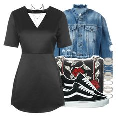 """""""Untitled #975"""" by trinsowavy ❤ liked on Polyvore featuring County Of Milan, Miu Miu, Forever 21, Vans and Topshop"""