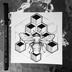 Geometric bee tattoo by Broken Ink follow instragram @broken_tattoo #sketchtattoo #blackworktattoo #iblackwork #blackworkbrasil #inkstinctsubmission #tattoo2me #geometrictattoo #animaltattoo #lineworktattoo #dotworktattoo #brokeninktattoo #eletricinkbrasil #ironworksink #ironworksbrasil #lineworktattoo #dotworktattoo #brokeninktattoo #brokenink