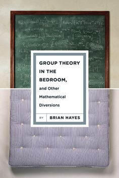 book cover design - group theory in the bedroom