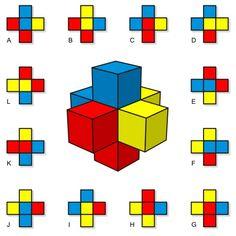 Cruz de cubos… | matematicascercanas