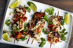 Chicken-Apricot Skewers | 34 Clean Eating Recipes That Are Perfect For Spring