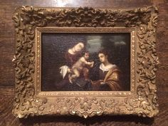 Suiveur de Lorenzo Costa - Vierge et l'enfant XVIIème