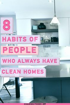 Here are 8 daily cleaning regimen habits that'll help your home stay spotless and tidy! Because, as we all know, the best way to keep a home looking nice is to make sure it's decluttered, organized, and clean!