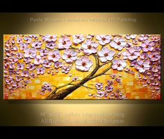 Modern Abstract Painting Oil Painting Palette Knife by Artcoast, $370.00