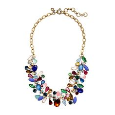 Beautiful necklace from J. Crew, but $138? Im sorry, but I will be making it for about $20.